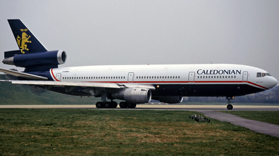 G-BWIN - McDonnell Douglas DC-10-30 - Caledonian Airways