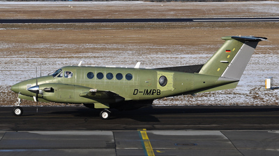 D-IMPB - Beechcraft B200 Super King Air - Malta - Armed Forces