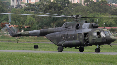 EJC-3393 - Mil Mi-17-1V Hip - Colombia - Army