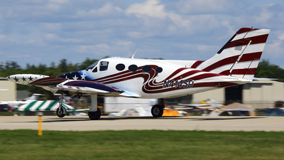 A picture of N414SD - Cessna 414 - [4140163] - © Paul Chandler