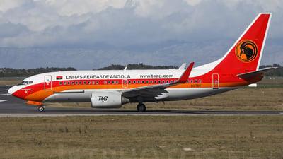 D2-TBK - Boeing 737-7HB(QC) - TAAG Linhas Aéreas de Angola