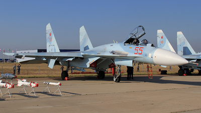 55 - Sukhoi Su-27SM3 Flanker B - Russia - Air Force