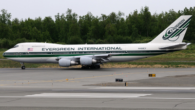 N488EV - Boeing 747-230B(SF) - Evergreen International Airlines
