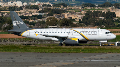 SU-NMA - Airbus A320-232 - Nesma Airlines