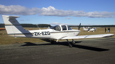ZK-EZG - Piper PA-38-112 Tomahawk - Aero Club - Auckland