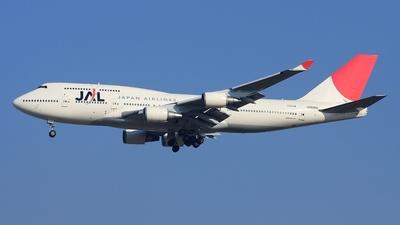 JA8088 - Boeing 747-446 - Japan Airlines (JAL)