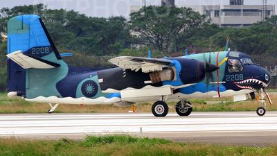 2207 - Grumman S-2T Turbo Tracker - Taiwan - Navy