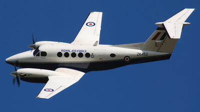 ZK452 - Beechcraft B200 Super King Air - United Kingdom - Royal Air Force (RAF)