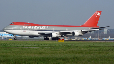 N628US - Boeing 747-251B - Northwest Airlines