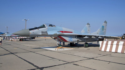 18 - Mikoyan-Gurevich MiG-29 Fulcrum - Ukraine - Air Force