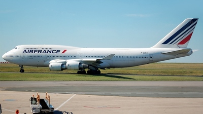 F-GISC - Boeing 747-428(M) - Air France