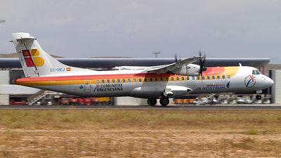 EC-HEJ - ATR 72-212A(500) - Iberia Regional (Air Nostrum)