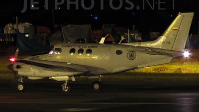 A picture of EJC1116 - Beech C90 King Air - [LJ739] - © Sebastián Correa