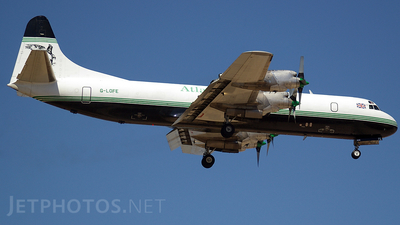 G-LOFE - Lockheed L-188C Electra - Atlantic Airlines
