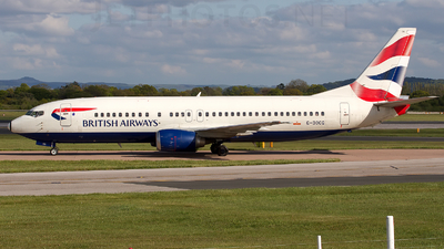 G-DOCG - Boeing 737-436 - British Airways