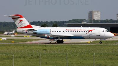 OE-LFP - Fokker 70 - Austrian Arrows