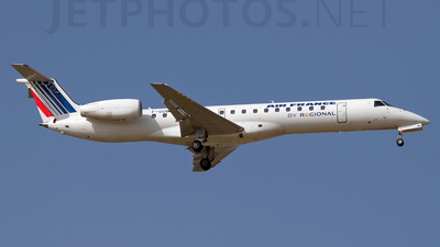 F-GUBE - Embraer ERJ-145MP - Air France (Régional Compagnie Aerienne)