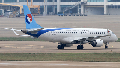 B-3187 - Embraer 190-100LR - Hebei Airlines