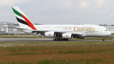 F-WWAL - Airbus A380-861 - Emirates