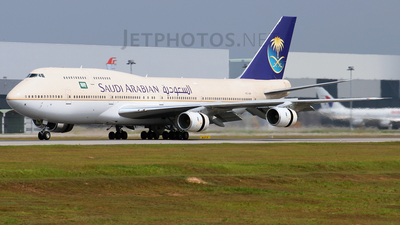 HZ-AIK - Boeing 747-368 - Saudi Arabian Airlines