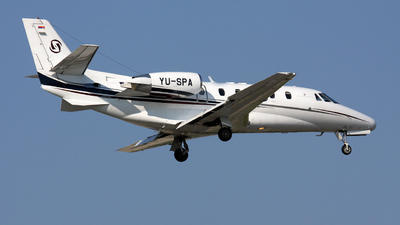 YU-SPA - Cessna 560XL Citation XLS - Prince Aviation
