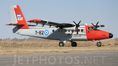 T-82 - De Havilland Canada DHC-6-200 Twin Otter - Argentina - Air Force