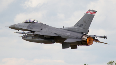 87-0288 - General Dynamics F-16C Fighting Falcon - United States - US Air Force (USAF)