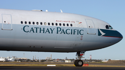 B-HXM - Airbus A340-313X - Cathay Pacific Airways