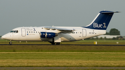OH-SAP - British Aerospace Avro RJ85 - Blue1