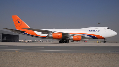 4L-TZS - Boeing 747-281F(SCD) - Kam Air (The Cargo Airlines)