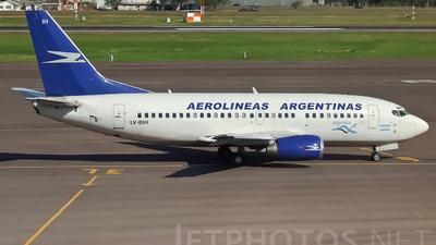 LV-BIH - Boeing 737-53A - Aerolíneas Argentinas