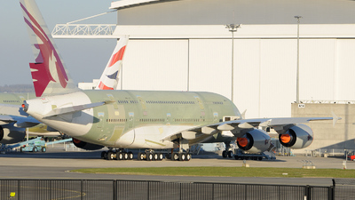 F-WWAL - Airbus A380-861 - Airbus Industrie