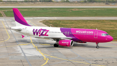 HA-LPJ - Airbus A320-233 - Wizz Air
