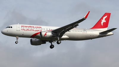 F-WWIM - Airbus A320-214 - Air Arabia
