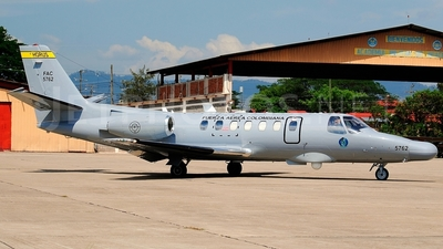 FAC5762 - Cessna 560 Citation V - Colombia - Air Force
