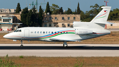 TC-AZR - Dassault Falcon 900EX - Private