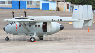 FAH-317 - IAI Arava 201 - Honduras - Air Force