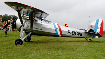 F-BCNL - Morane-Saulnier MS-317 - Private