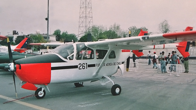 261 - Cessna O-2 Skymaster - Chile - Air Force