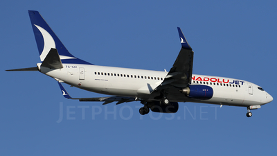 TC-SAI - Boeing 737-8AS - AnadoluJet (SunExpress)