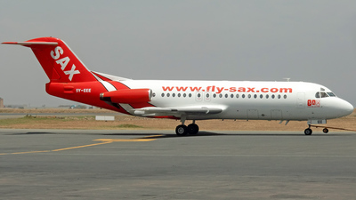5Y-EEE - Fokker F28-4000 Fellowship - Fly-Sax