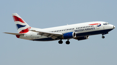 G-LGTE - Boeing 737-3Y0 - British Airways