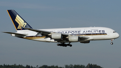9V-SKJ - Airbus A380-841 - Singapore Airlines