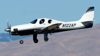 A picture of N122AP - Lancair Evolution Turbine - [EVO021] - © Ryan Coulter