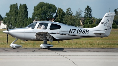 N719SR - Cirrus SR22-GTS Turbo - Private