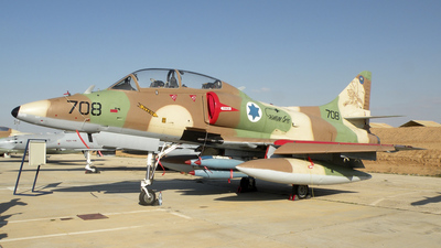 708 - McDonnell Douglas A-4N Improved Ayit - Israel - Air Force