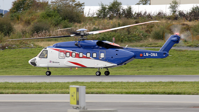 LN-ONA - Sikorsky S-92A Helibus - Bristow Norway