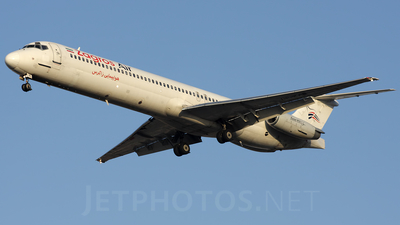 EP-ZAB - McDonnell Douglas MD-83 - Zagros Airlines