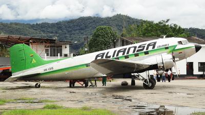 HK-1315 - Douglas DC-3 - Aliansa Colombia
