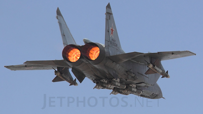 RF-95217 - Mikoyan-Gurevich MiG-31 Foxhound - Russia - Air Force